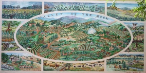 Wall Mural for Valley of the Moon image by Frank Kovalchek