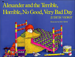Alexander and the Terrible, Horrible, No Good, Very Bad Day via the fashionmagpie on creative commons