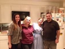 My kids including my lovely daughter in law