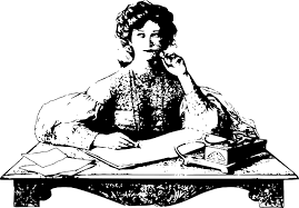 images  Desk woman thinking sitting desk writing via pixabay