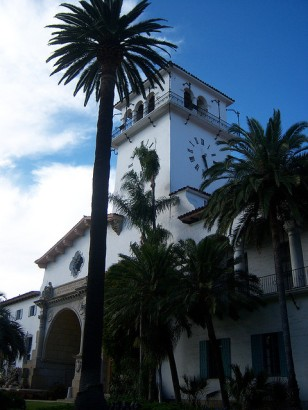 Santa Barbara County Courthouse by Konrad Summers