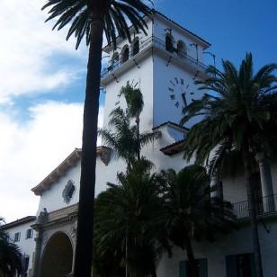 Santa Barbara County Courthouse by Konrad Summers