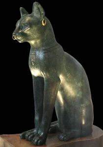 British_Museum_Egypt_101-black    Bastet via wikipedia