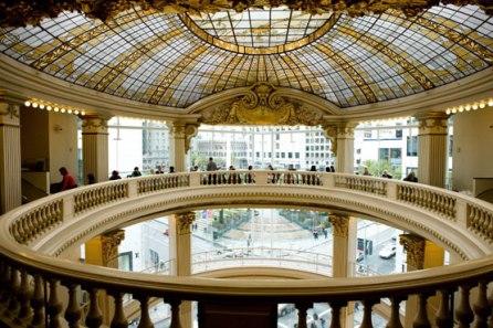 Rotunda from old City of Paris