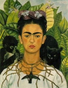 Frida_Kahlo_(self_portrait)  via wikipedia