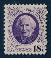 Elizabeth Blackwell MD Stamp
