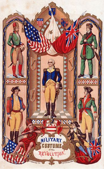 American Revolution Military Uniforms