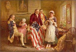 Betsy Ross American Flag