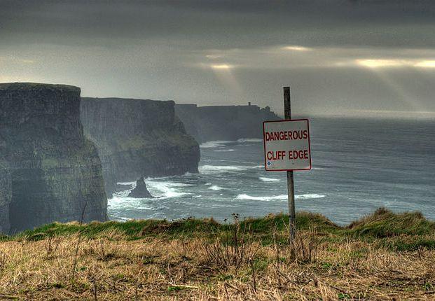 Dangerous Cliff Edge