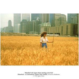 Wheatfield by Agnes Denes