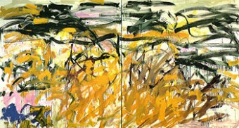No Birds by Joan Mitchell