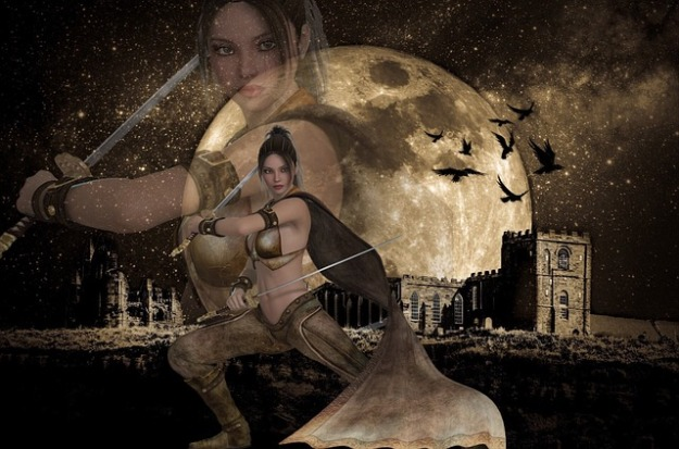 moon-625450_640  Moon Warrior via Pixabay