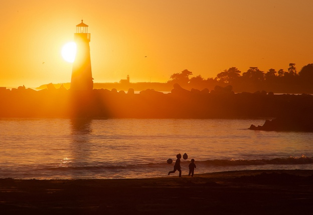 Santa Cruz Sunset by Anita Ritenour