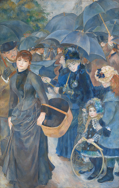 'The Umbrellas' by Pierre-Auguste Renoir