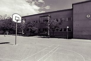 A school yard like this