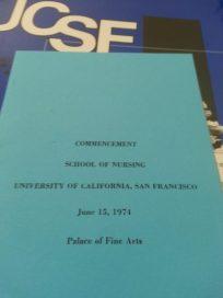 UCSF Nursing Graduation