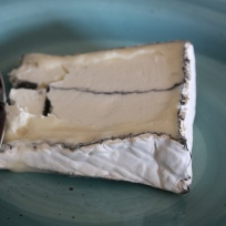 Humboldt Fog cheese by Sharona Gott