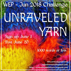 WEP CHALLENGE FOR JUNE....UNRAVELED YARN.