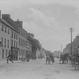 Nenagh, Tipperary via National Library of Ireland on Flickr