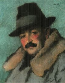 'The Detective' by József Rippl-Rónai (1861–1927) via wikipedia.org